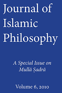 Journal of Islamic Philosophy 6 (2010). Special Issue on Mulla Sadra